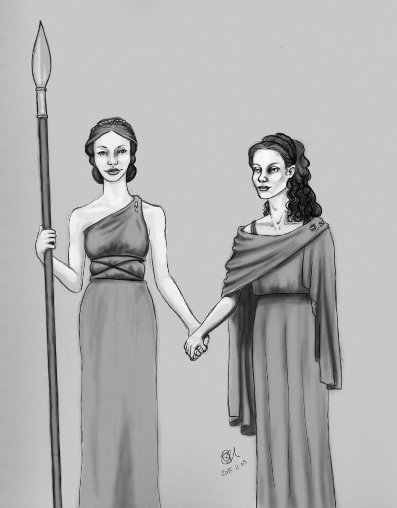 Daphne and Leua